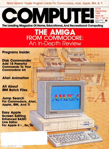 Compute! Issue 064 Vol. 7, No. 9 September 1985