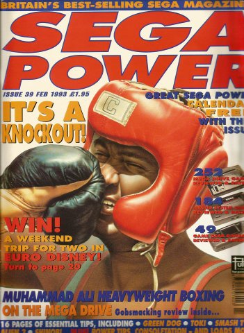 Sega Power Issue 39 (February 1993)