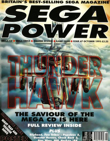 Sega Power Issue 47 (October 1993)