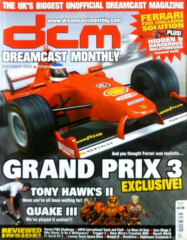 Dreamcast Monthly Issue 15 (December 2000)