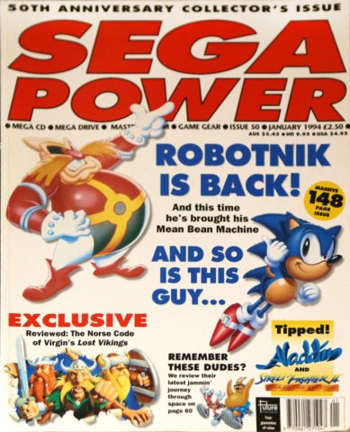 Sega Power Issue 50 (January 1994)