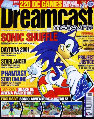 Dreamcast Magazine 18 (January 2001)