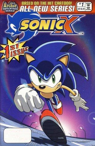 Sonic X 001 (November 2005)