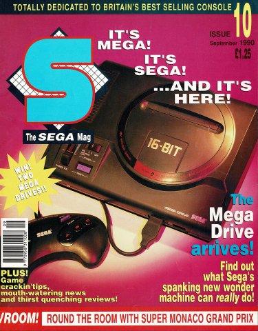 S: The Sega Magazine Issue 10 (September 1990)