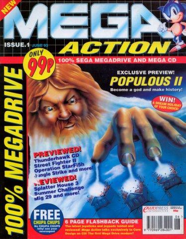 Mega Action 01 (June 1993)