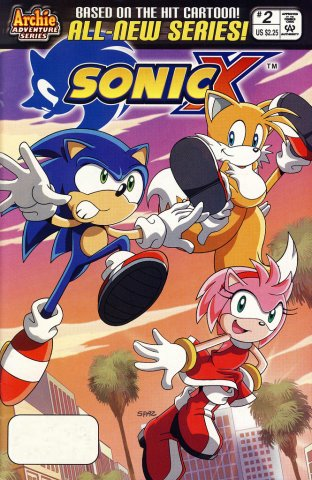 Sonic X 002 (December 2005)