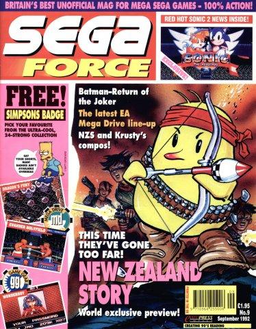 Sega Force 09 (September 1992)