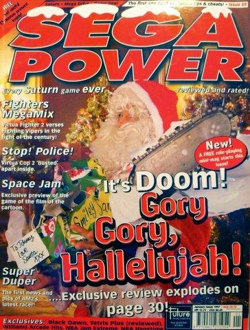 Sega Power Issue 88 (January 1997)