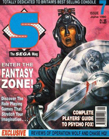 S: The Sega Magazine Issue 07 (June 1990)