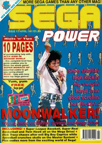 Sega Power Issue 17 (April 1991)