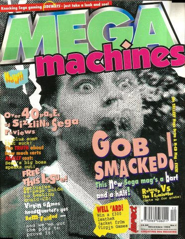 Mega Machines Issue 01 (December 1993)