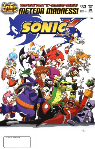 Sonic X 033 (July 2008)