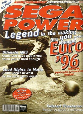 Sega Power Issue 80 (July 1996)