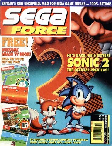 Sega Force 10 (October 1992)