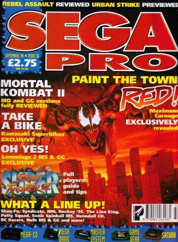 Sega Pro 36 (September 1994)