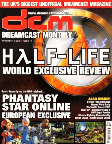 Dreamcast Monthly Issue 14 (November 2000)