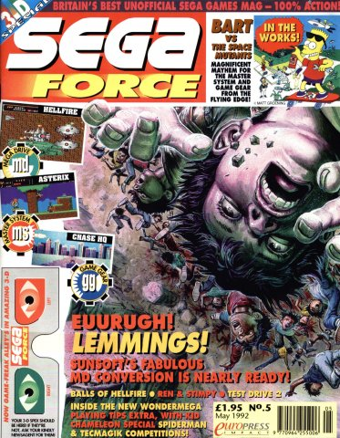 Sega Force 05 (May 1992)