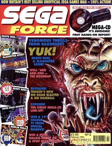 Sega Force 02 (February 1992)