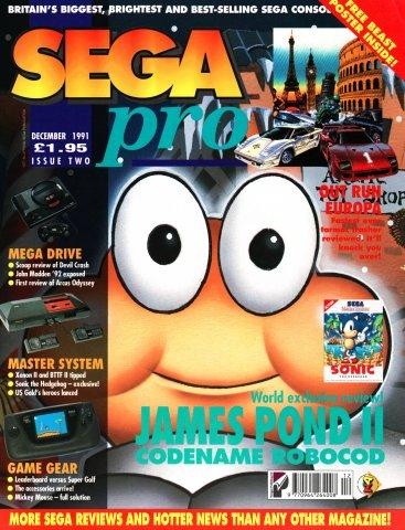 SEGA Pro 02 (December 1991)
