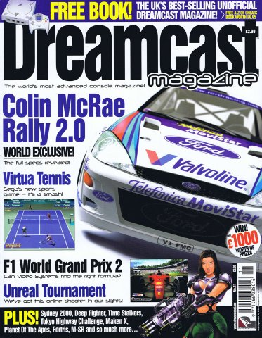 Dreamcast Magazine 11 (July 2000)