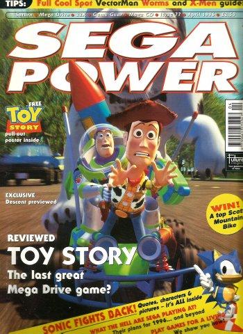 Sega Power Issue 77 (April 1996)