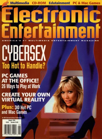 Electronic Entertainment Vol.1 No.08 (August 1994)