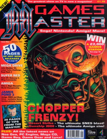 GamesMaster Issue 001 (January 1993)