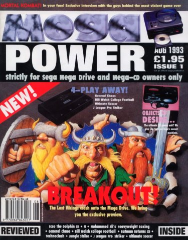 Mega Power 01 (August 1993)