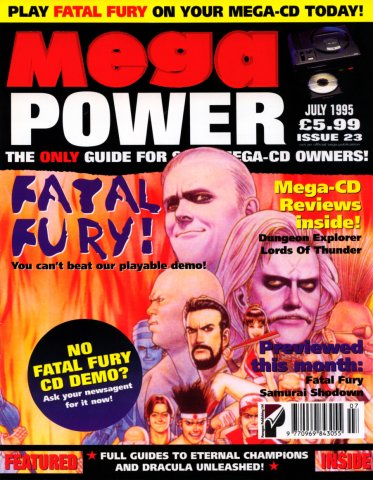 Mega Power 23 (July 1995)