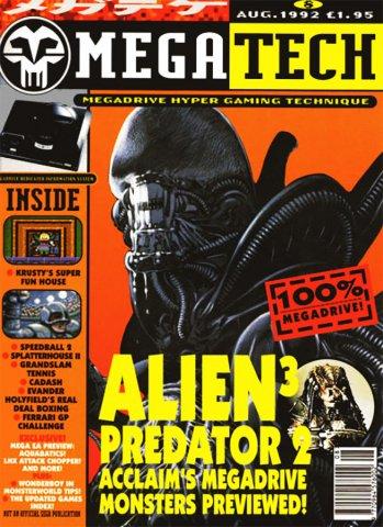 MegaTech 08 (August 1992)