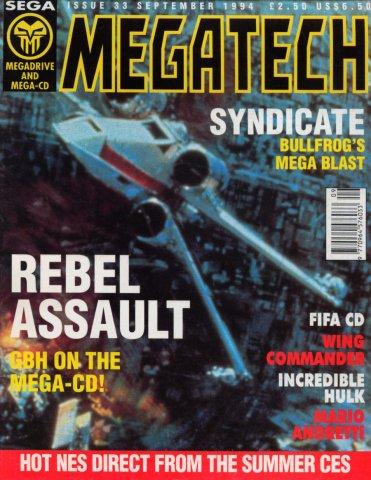 MegaTech 33 (September 1994)