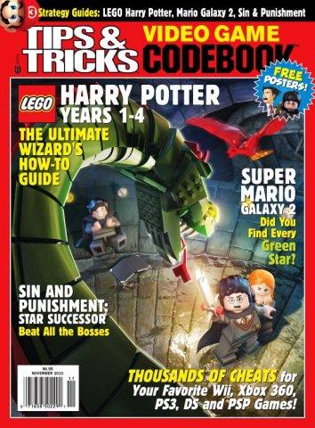 Tips & Tricks Video Game Codebook November 2010