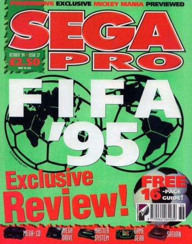 SEGA Pro 37 (October 1994)