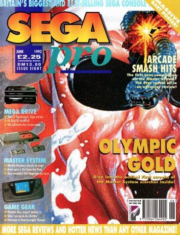 SEGA Pro 08 (June 1992)