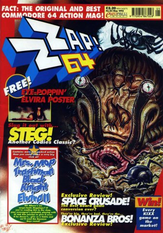 Zzap64 Issue 084