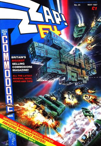 Zzap64 Issue 025