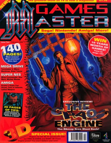 GamesMaster Issue 002 (February 1993)