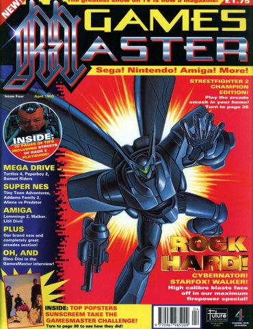 GamesMaster Issue 004 (April 1993)