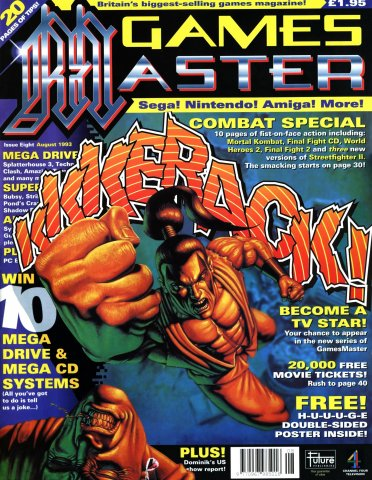GamesMaster Issue 008 (August 1993)
