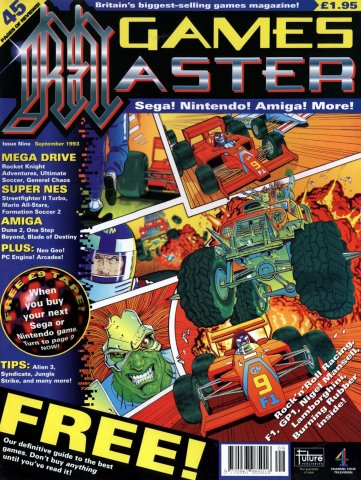GamesMaster Issue 009 (September 1993)