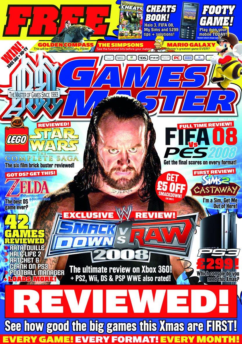 GamesMaster Issue 192 (December 2007)
