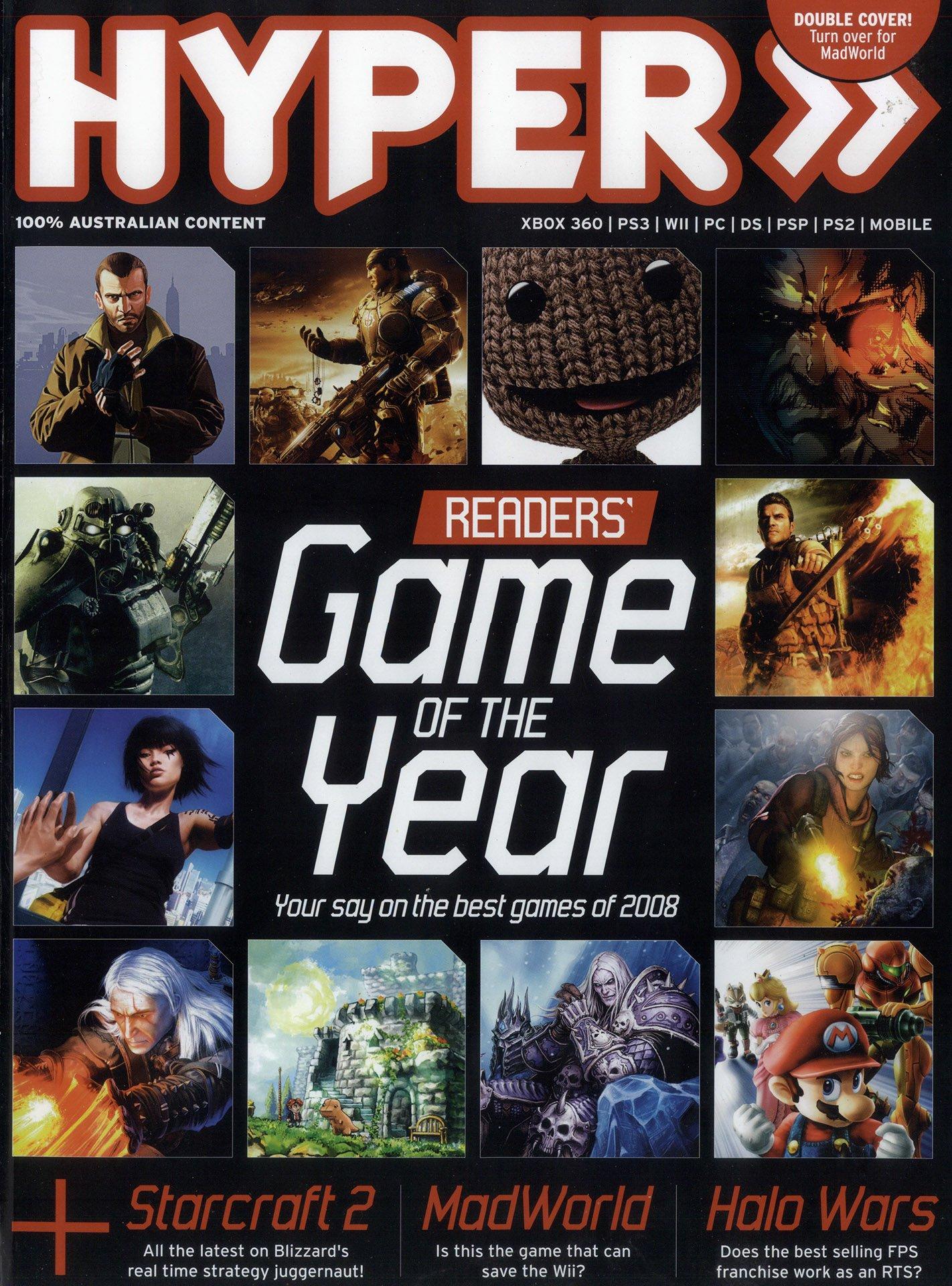 Hyper 186 (April 2009) (cover b)