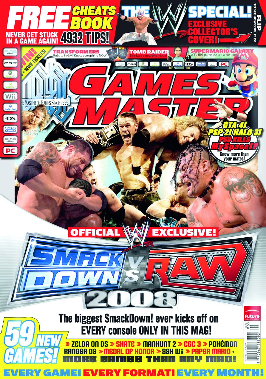 GamesMaster Issue 185 (May 2007)