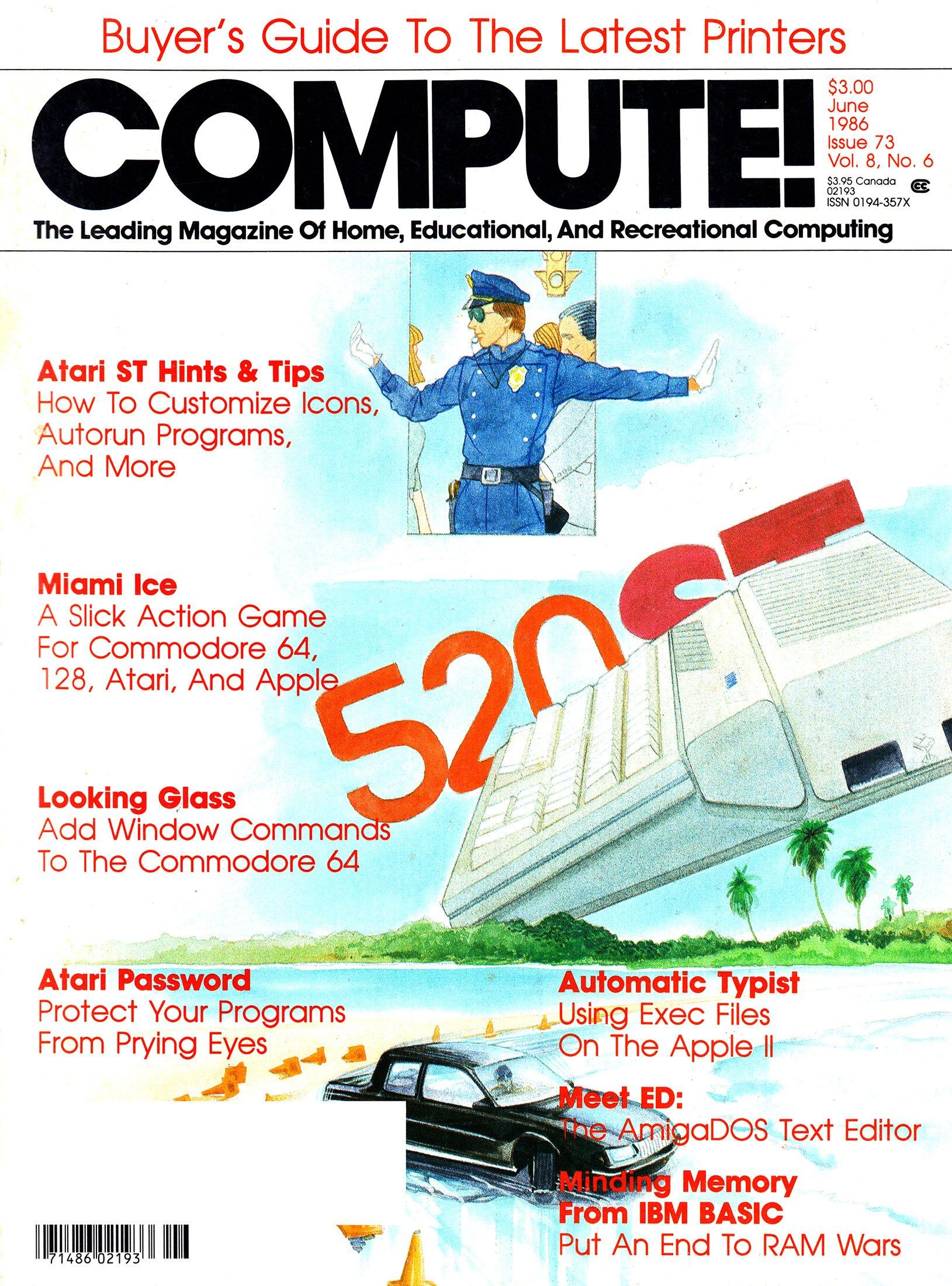 Compute! Issue 073 Vol. 8 No. 6 (June 1986)
