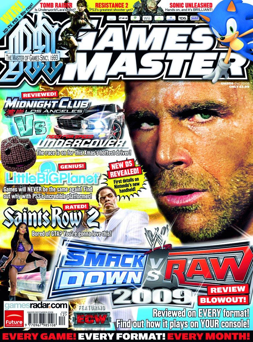 GamesMaster Issue 205 (December 2008)