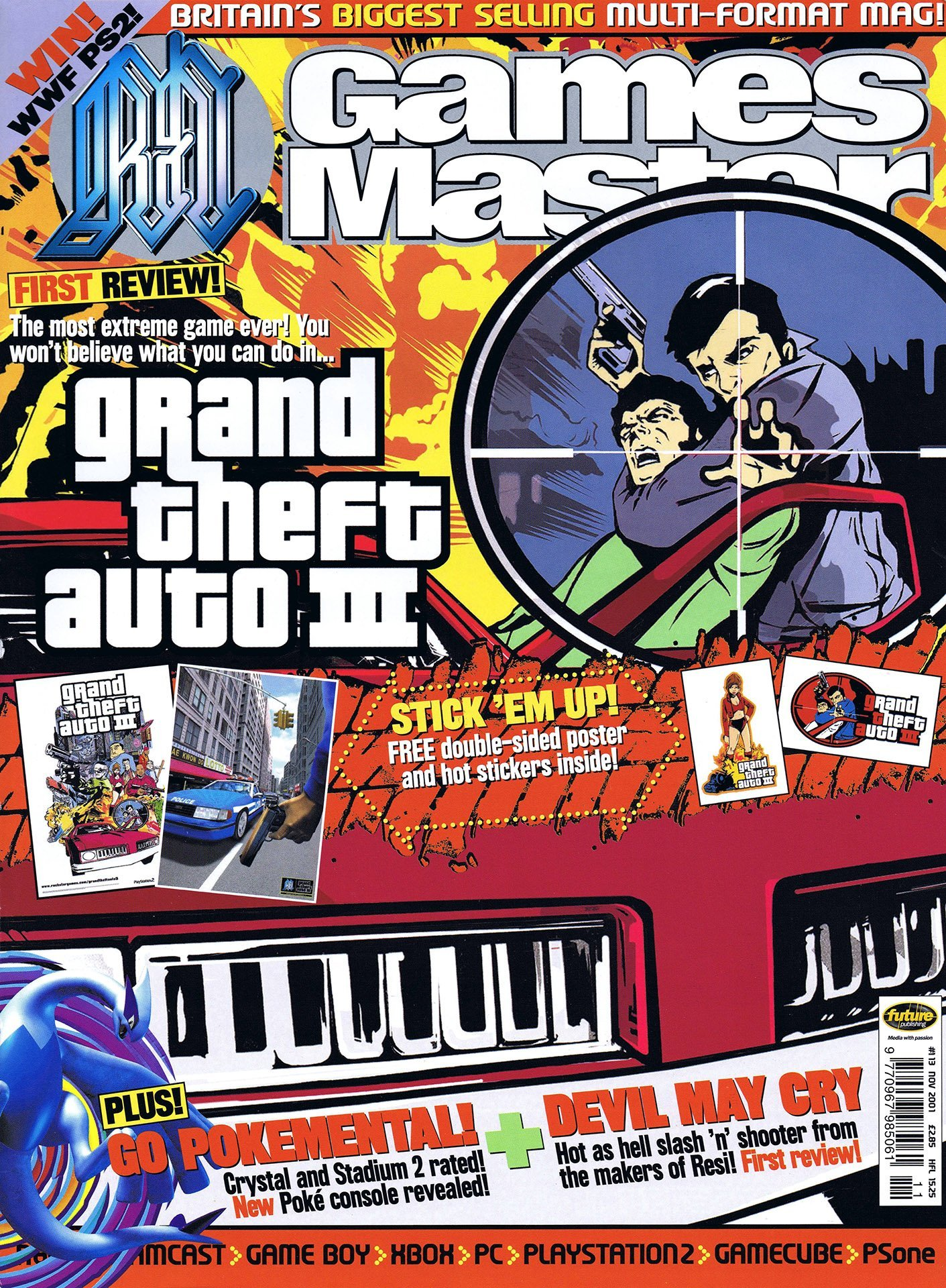 GamesMaster Issue 113 (November 2001)