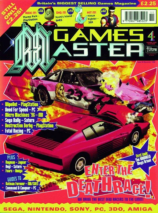 GamesMaster Issue 035 (November 1995)