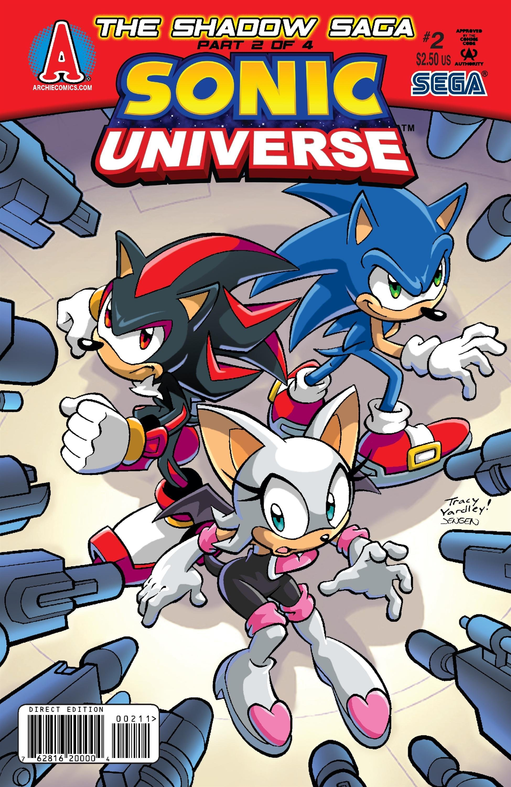 Sonic Universe 002 (May 2009)