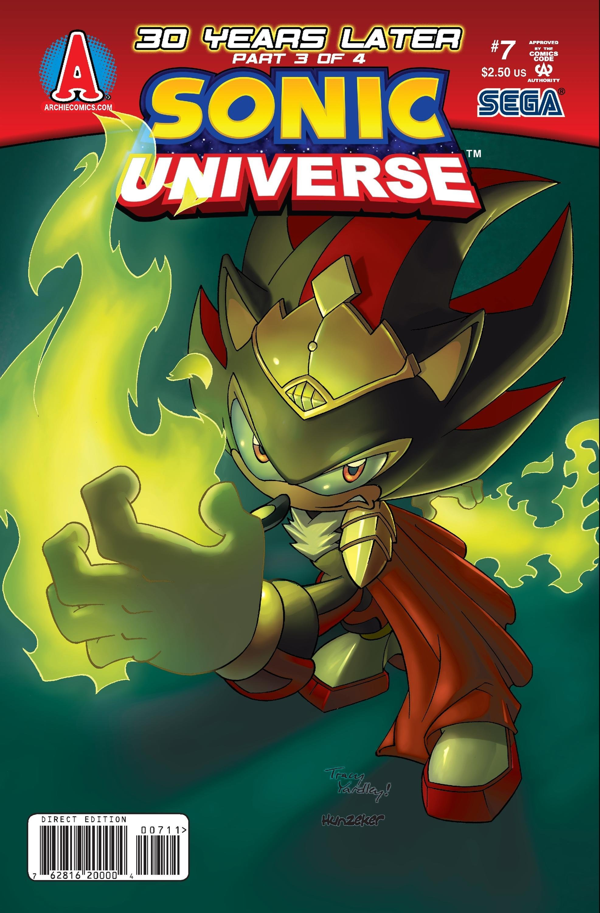 Sonic Universe 007 (October 2009)