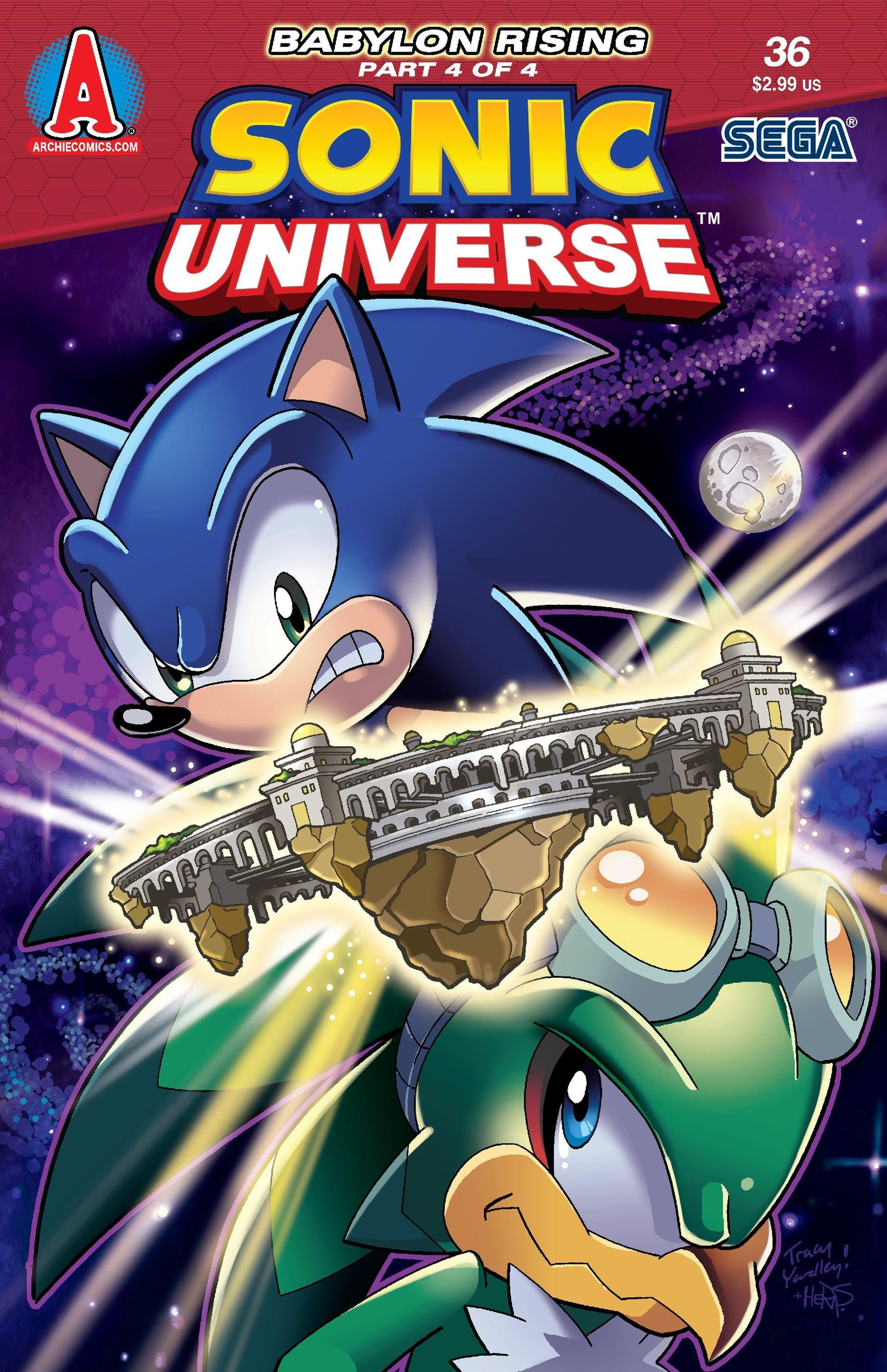 Sonic Universe 036 (March 2012)